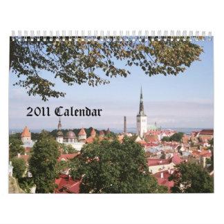 2011 Calendar ~ Vintage Estonia