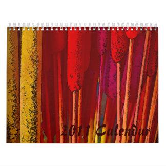 2011 calendario - arte pop