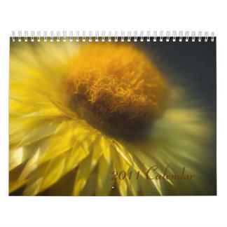 2011 calendario - flores de Lensbaby