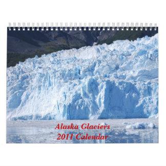 2011 calendario - glaciar