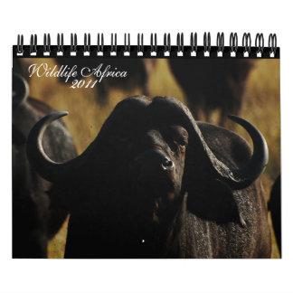 2011 Calendars - Wildlife Africa - small size