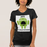 2011 Cambrian Explosion (Android Bug Droid) Shirts