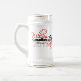 2011 Canadian Tour - William & Kate Wedding Beer Stein