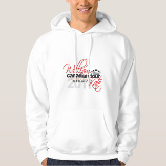 2011 Canadian Tour - William & Kate Wedding Hoodie