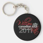 2011 Canadian Tour - William & Kate Wedding Key Chain