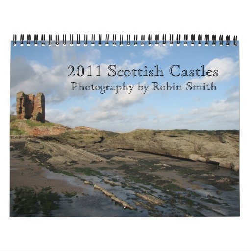 2011 castillos escoceses calendario de pared