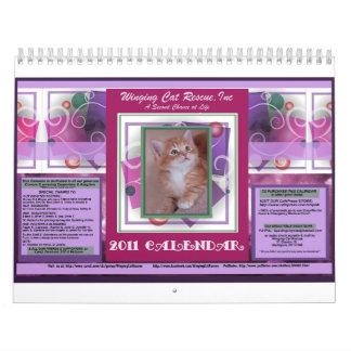 2011  Cat Calendar-Large Size Calendar