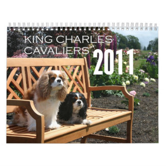 2011 Cavalier King Charles Spaniel Calendar