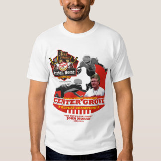 2011 - Center Grove Trojan Horse John Moran Design T-Shirt
