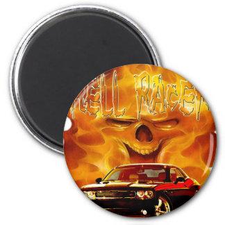 2011 Challenger Hell Racer Magnet