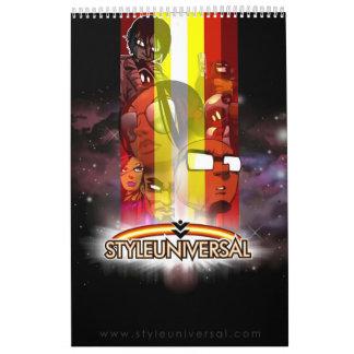 2011 Character calendar