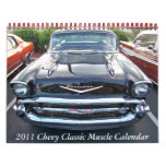 2011 Chevy Classic  Muscle Calendar