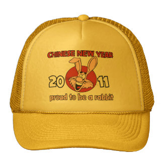 2011 Chinese New Year of The Rabbit Trucker Hat