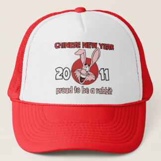 2011 Chinese New Year of The Rabbit Trucker Hat