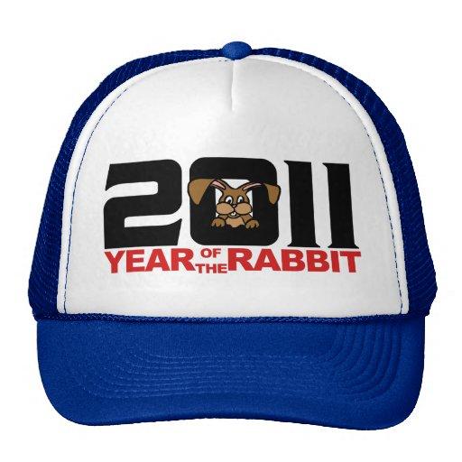 2011 Chinese Year of The Rabbit Gift Trucker Hat