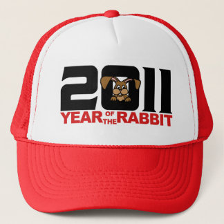 2011 Chinese Year of The Rabbit Gift Trucker Hat