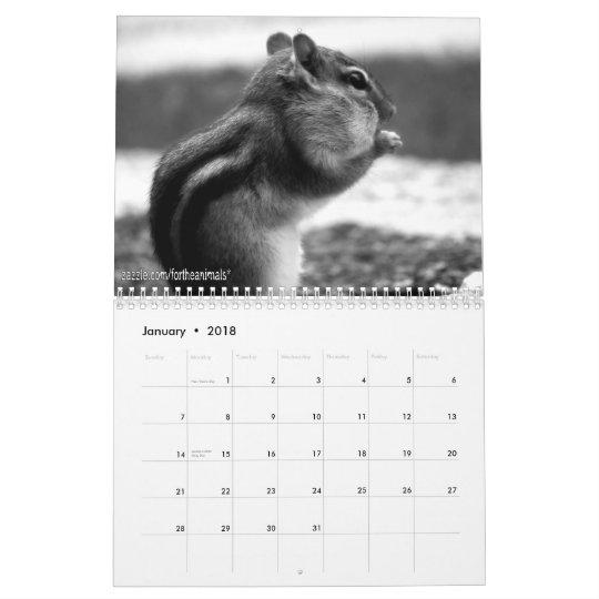 2011 Chipmunk Calendar