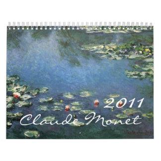 2011 Claude Monet Calendar