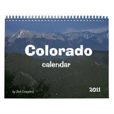 2011 Colorado Calendar