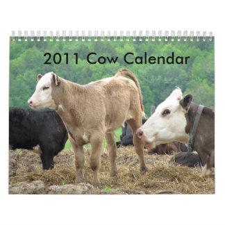 2011 Cow Calendar
