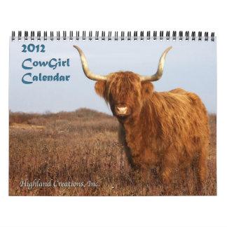 2011 CowGirl Calendar