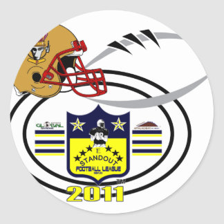 2011 Crownholders SHIELD Classic Round Sticker