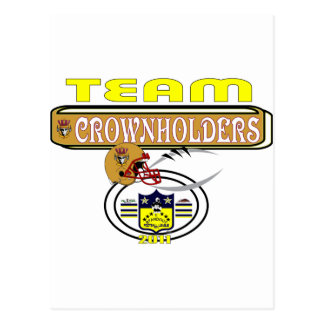 2011 Crownholders SIDELINE Postcard