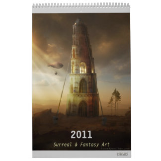 2011 Digital Surreal & Fantasy Art - Wall Calendar