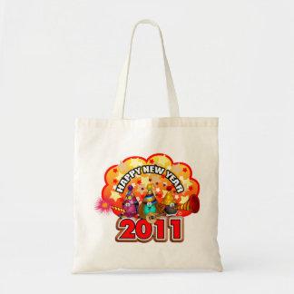 2011 - Diseño del Año Nuevo Bolsa Tela Barata