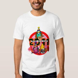 2011 - Diseño del Año Nuevo Camisas