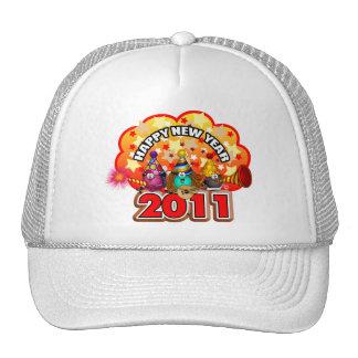 2011 - Diseño del Año Nuevo Gorras