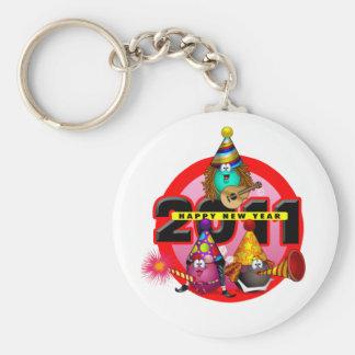 2011 - Diseño del Año Nuevo Llavero Redondo Tipo Pin