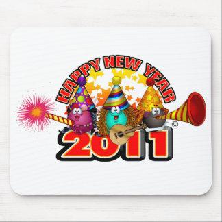 2011 - Diseño del Año Nuevo Mousepads