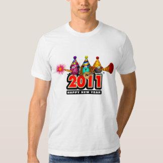 2011 - Diseño del Año Nuevo Playera