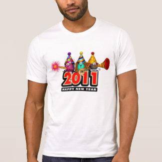 2011 - Diseño del Año Nuevo Poleras
