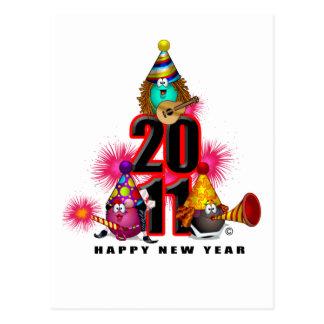 2011 - Diseño del Año Nuevo Postales