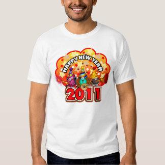2011 - Diseño del Año Nuevo Remeras
