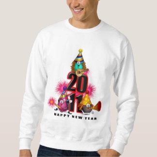 2011 - Diseño del Año Nuevo Sudadera Con Capucha