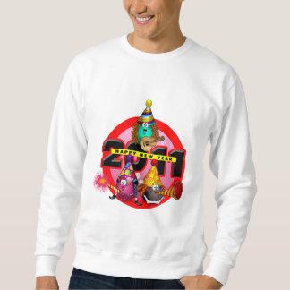 2011 - Diseño del Año Nuevo Sudaderas Encapuchadas