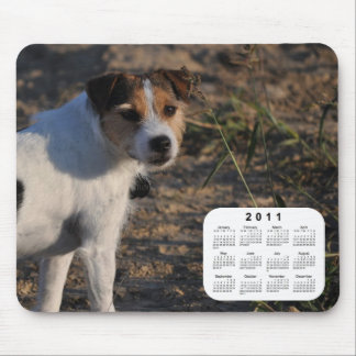2011 Dog Calendar - Parson Jack Russell Terrier Mouse Pad