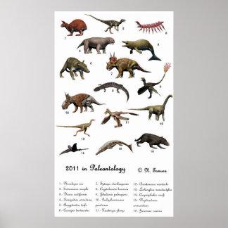 2011 en paleontología posters