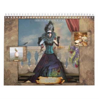 2011 Enchanted Map Calendar