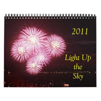 2011 encienda para arriba el cielo calendarios de pared