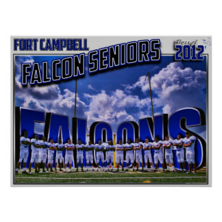 2011 Falcon Seniors - Class of 2012 Poster