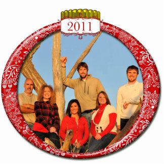 2011 Family Couples Kids Photo Christmas Ornament