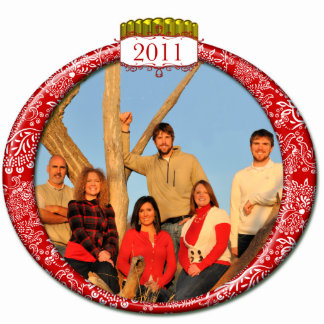 2011 Family Couples Kids Photo Christmas Ornament Photo Sculpture
