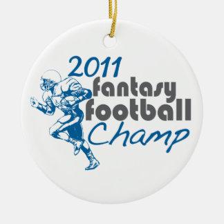 2011 Fantasy Football Champ Ornament