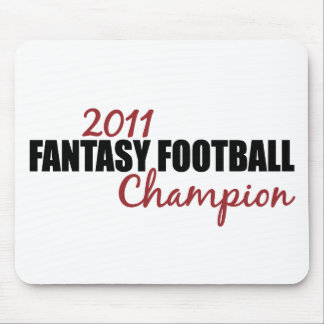 2011 Fantasy Football Champion Mouse Pad