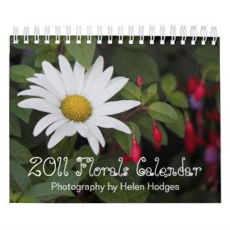 2011 Florals Calendar