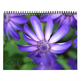 2011  Flower Calendar